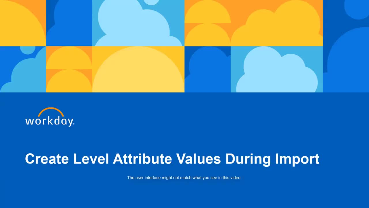 Create Level Attribute Values During Level Import