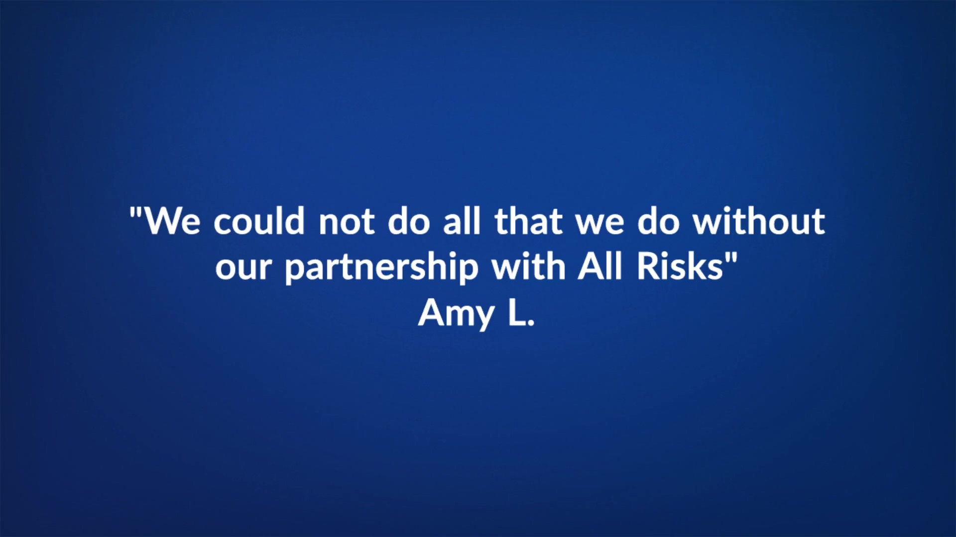 All Risks Workers Comp - Client Testimonials