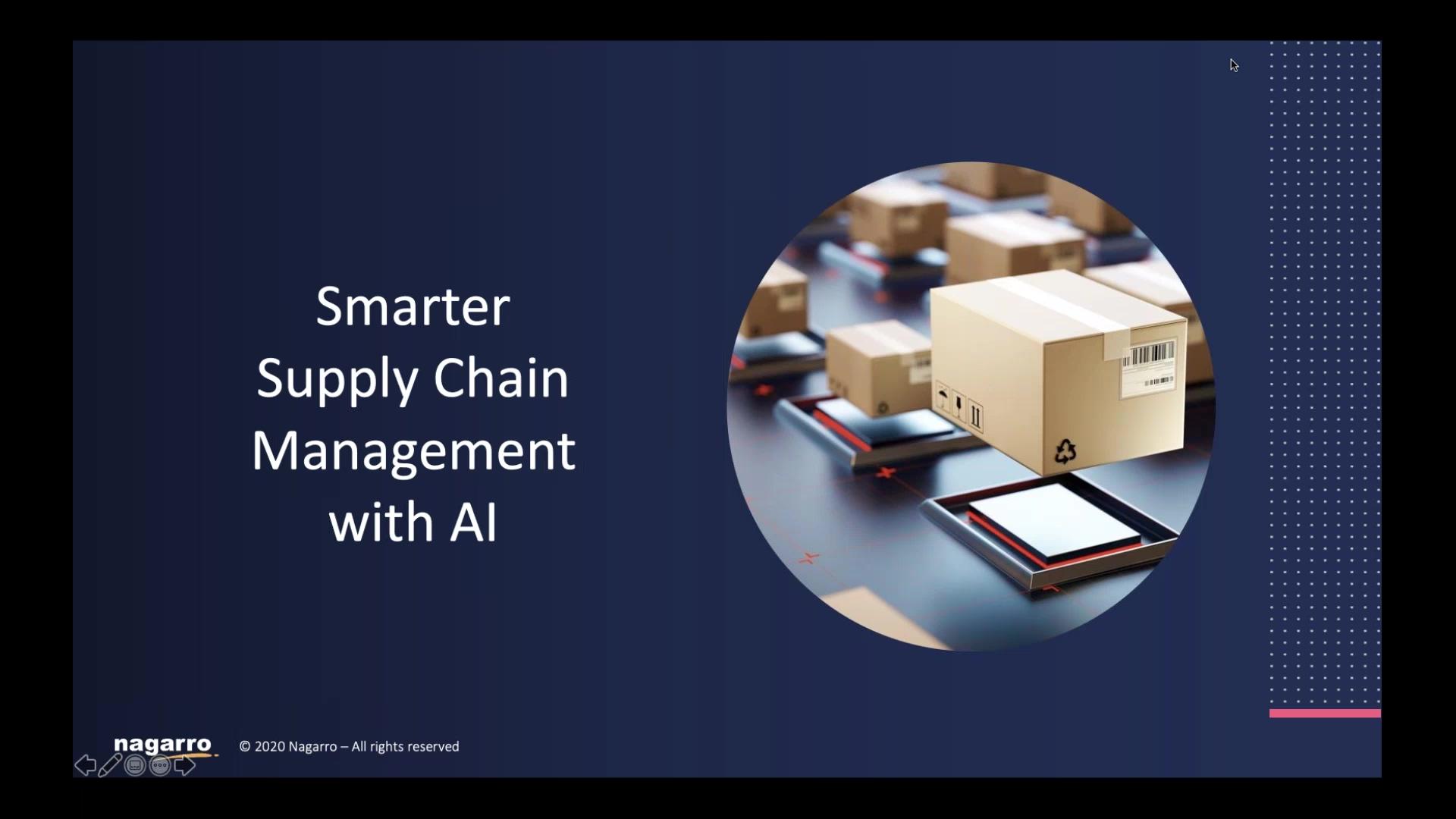 Webinar Recording_Smarter Supply Chain Management Using Artificial Intelligence