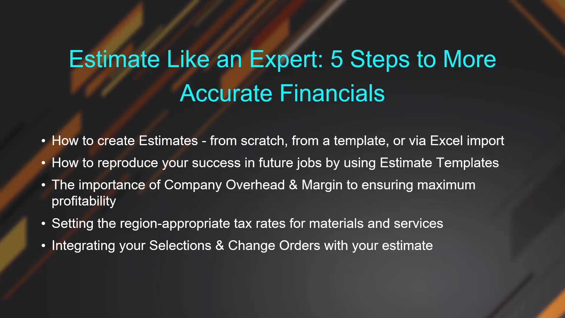 Estimate Like an Expert - 5 Steps to More Accurate Financials_2
