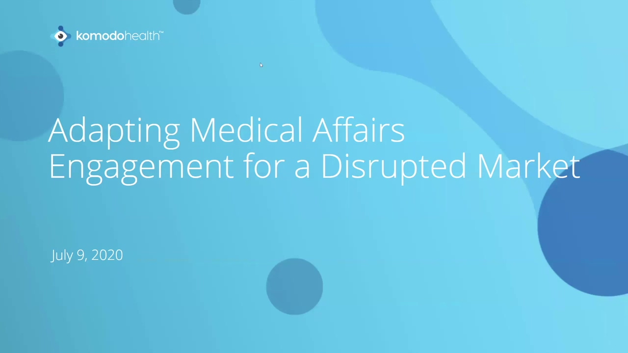 WBNR 0709 - Adapting MA Engagement in a Disrupted Market