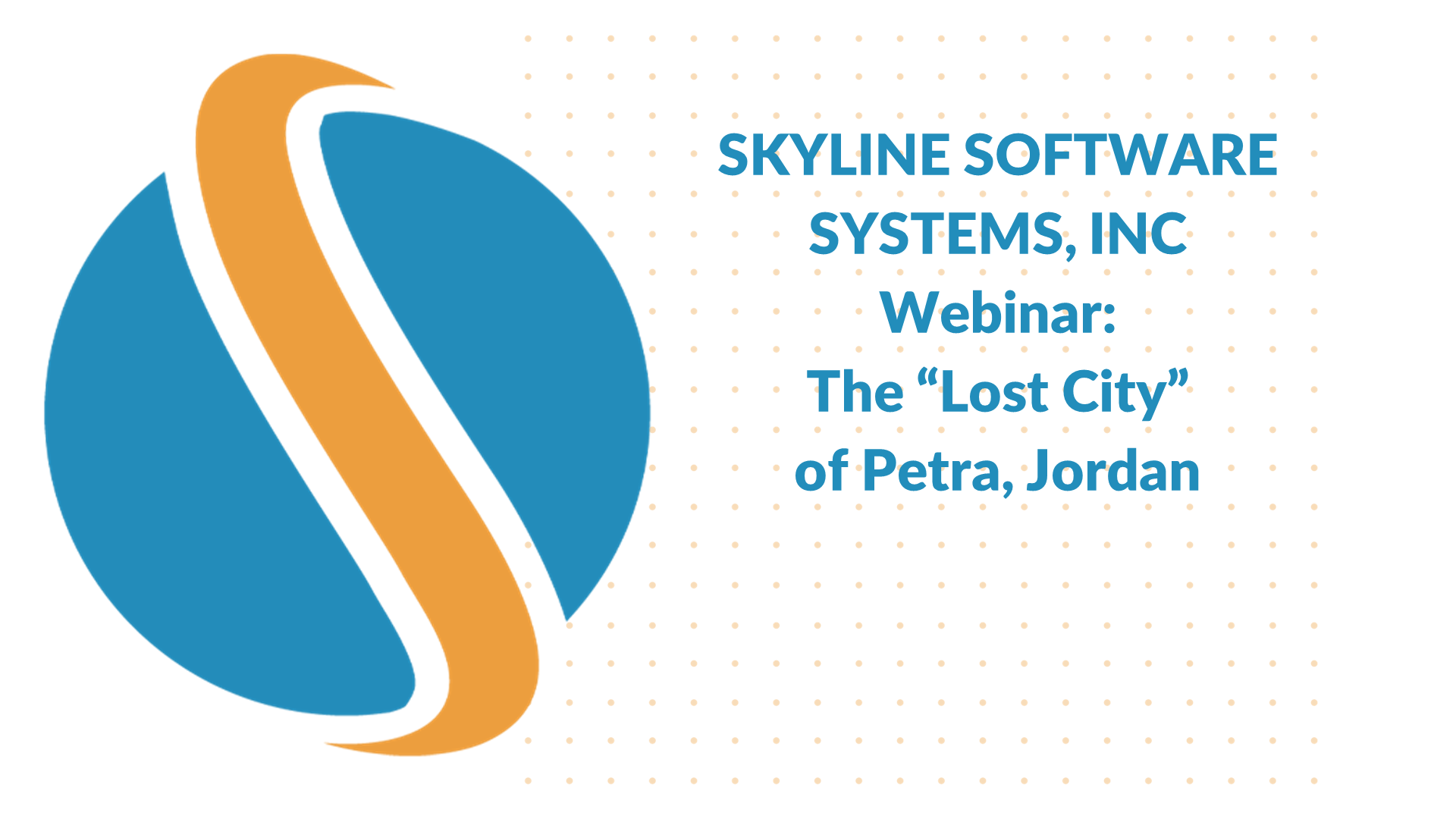 Experience Petra in 3D_ Virtual Wonder and Skyline Software Systems, Inc