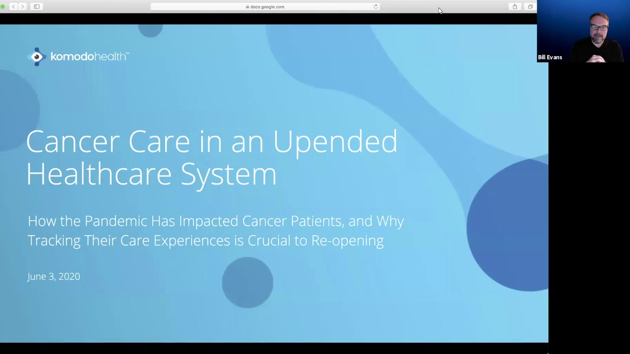 Cancer Care in an Upended Health System