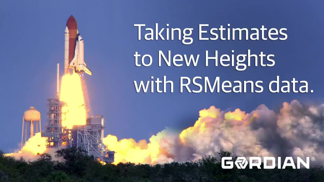 Taking Estimates to New Heights with RSMeans data
