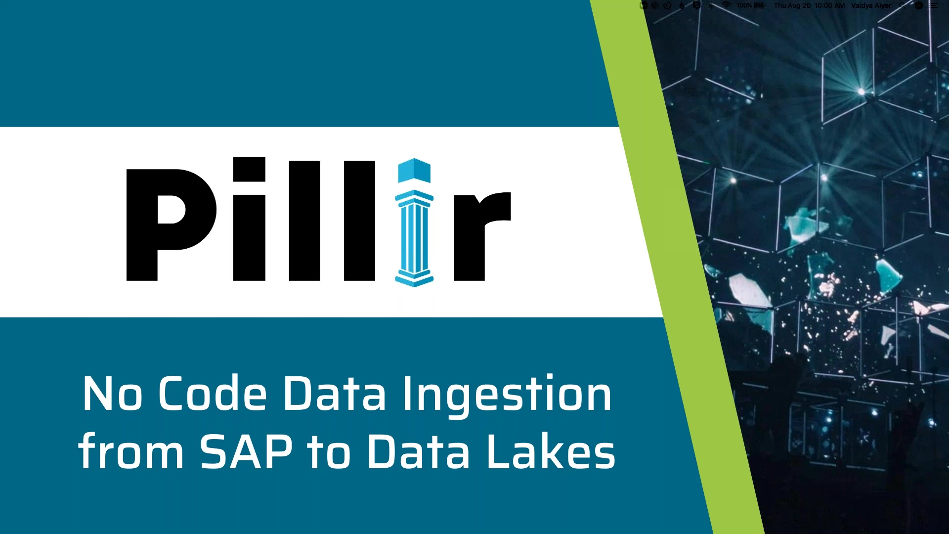 No Code Data Ingestion from SAP to Cloud Data Lakes