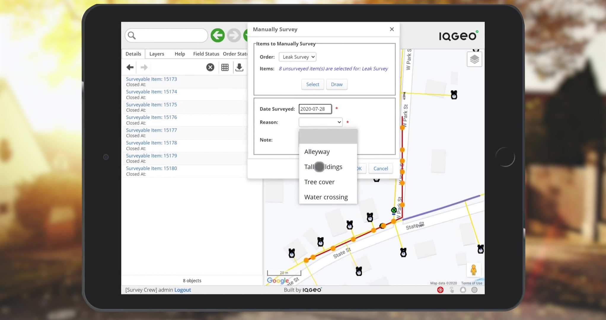 IQGeo_Inspections_&_Survey_demo