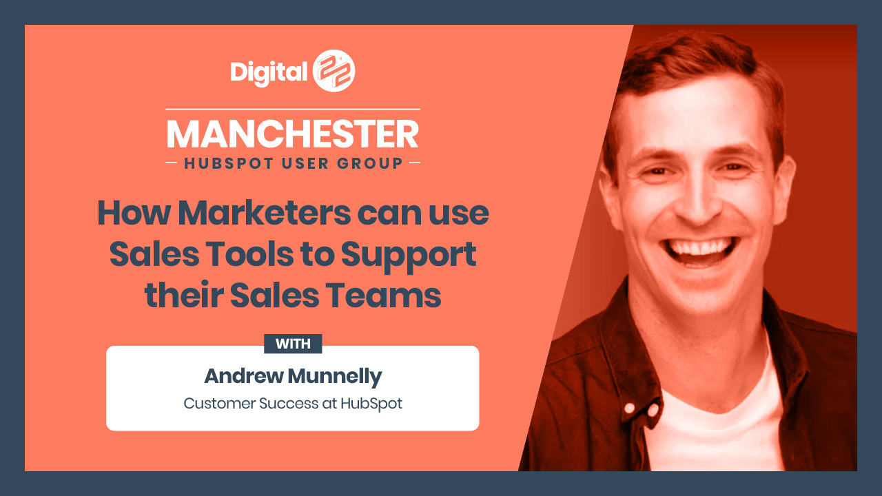 How marketers can use sales tools to support their sales teams - Andrew Munnelly.
