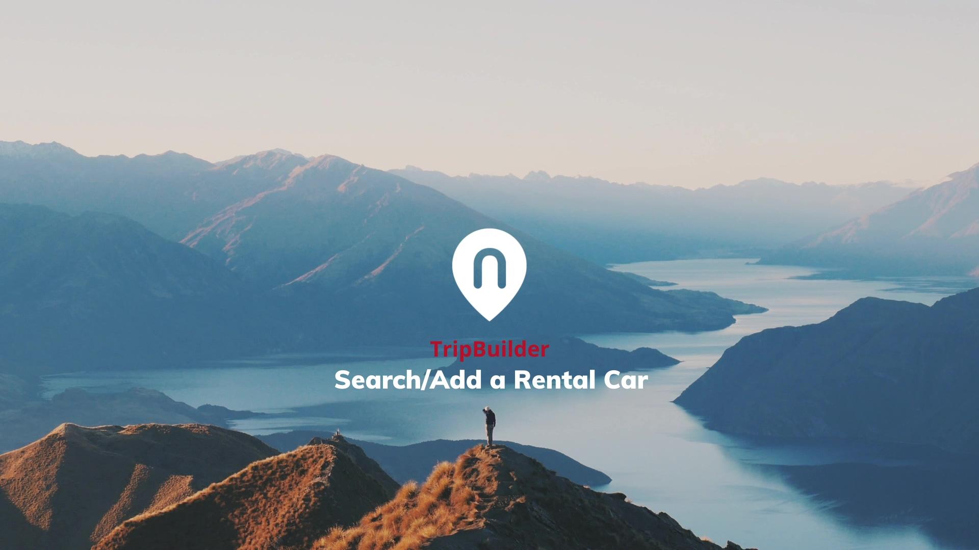 Search-Add a rental car 1080p