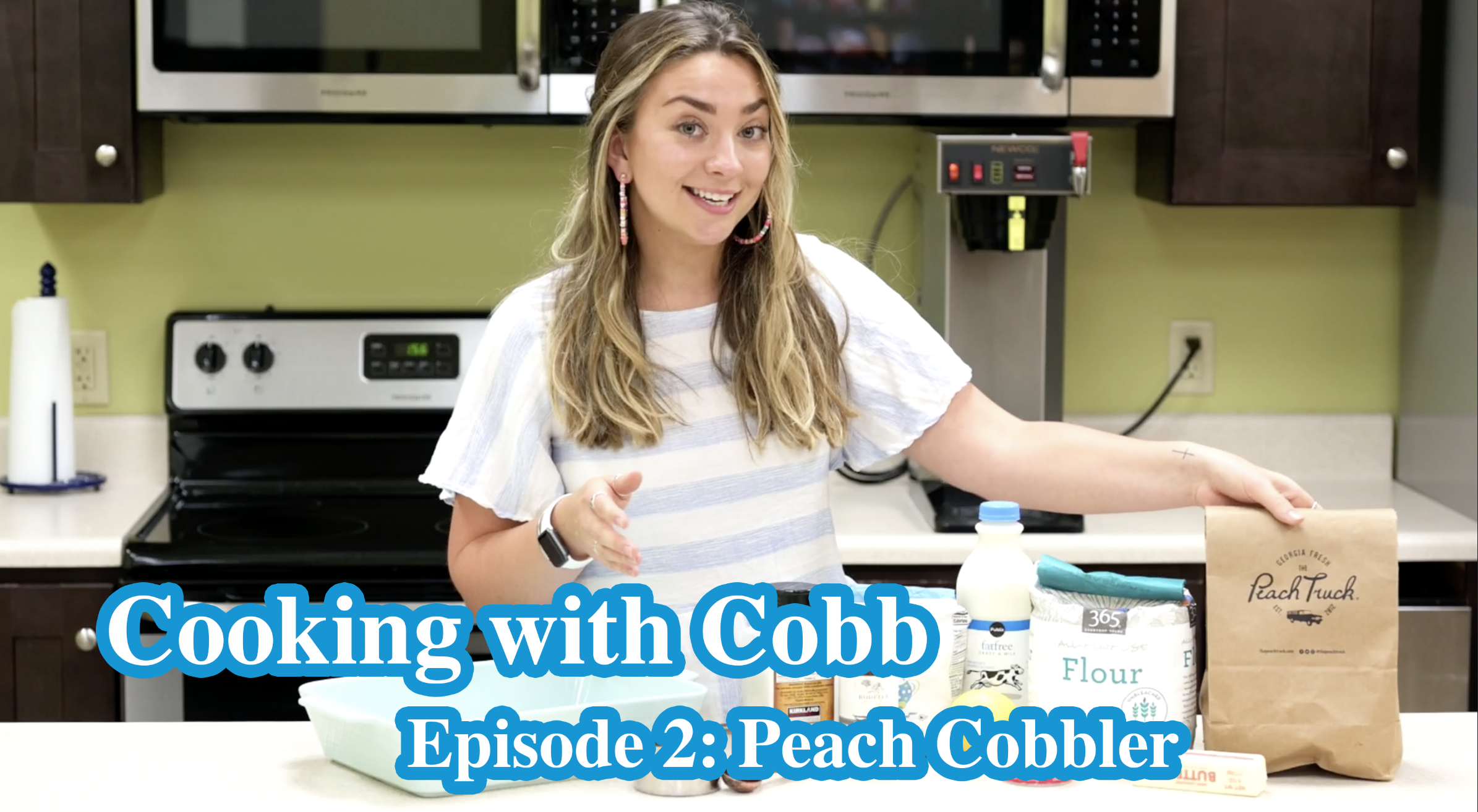 Cooking with Cobb - Episode 2 Peach Cobbler