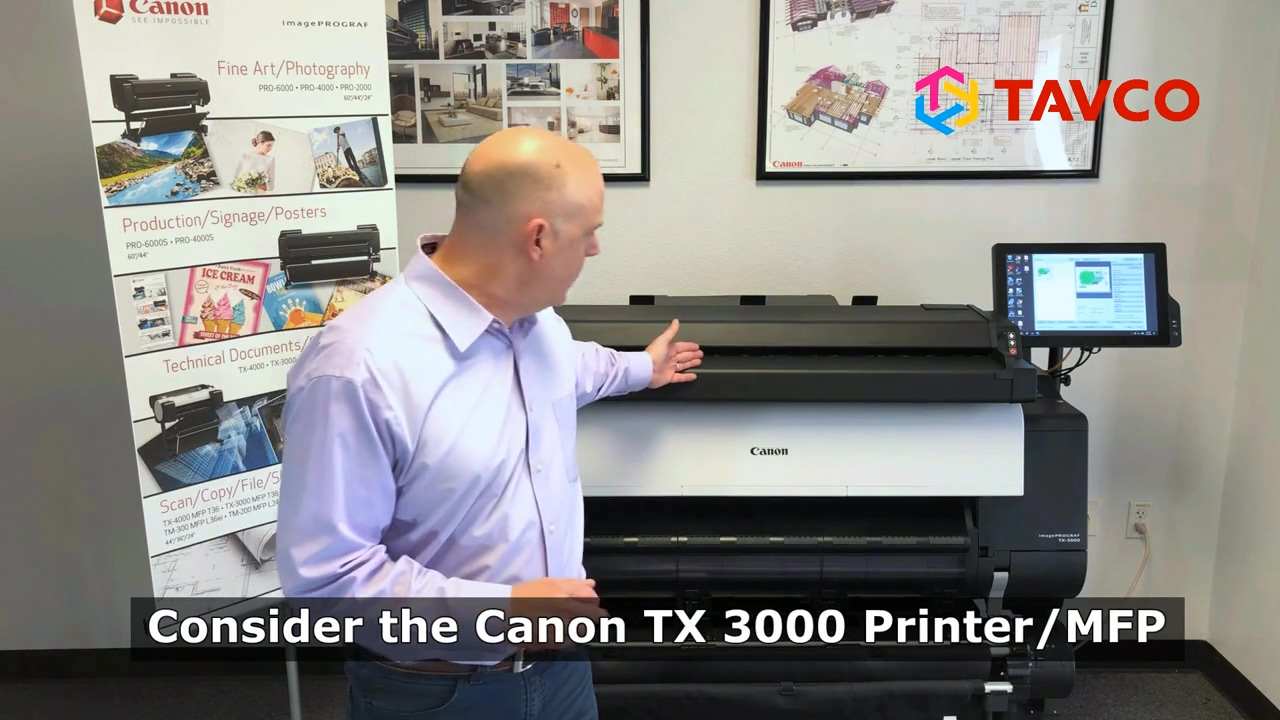 Canon TX 3000 Overview - 2020
