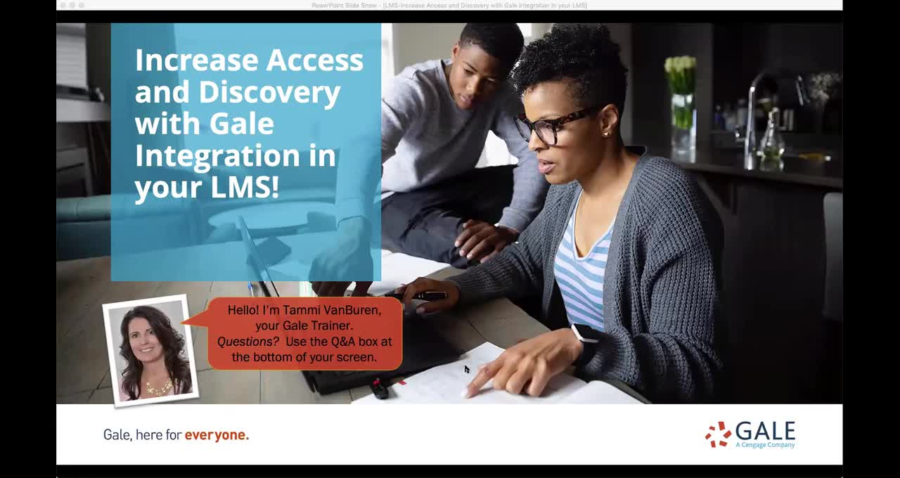 Increase Access and Discovery with Gale Integration in your LMS! Thumbnail
