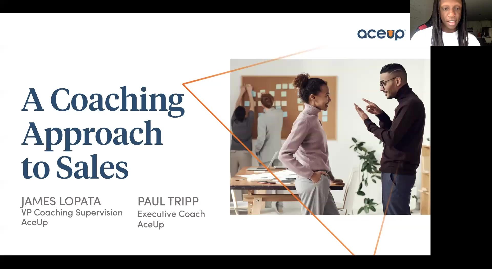 Coaching Approach to Sales Webinar Recording