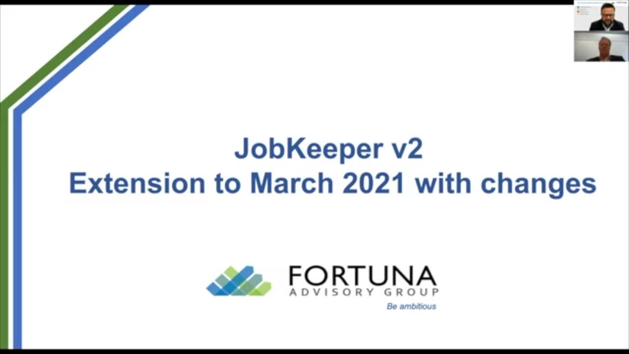 Edited JobKeeper Webinar 2.0