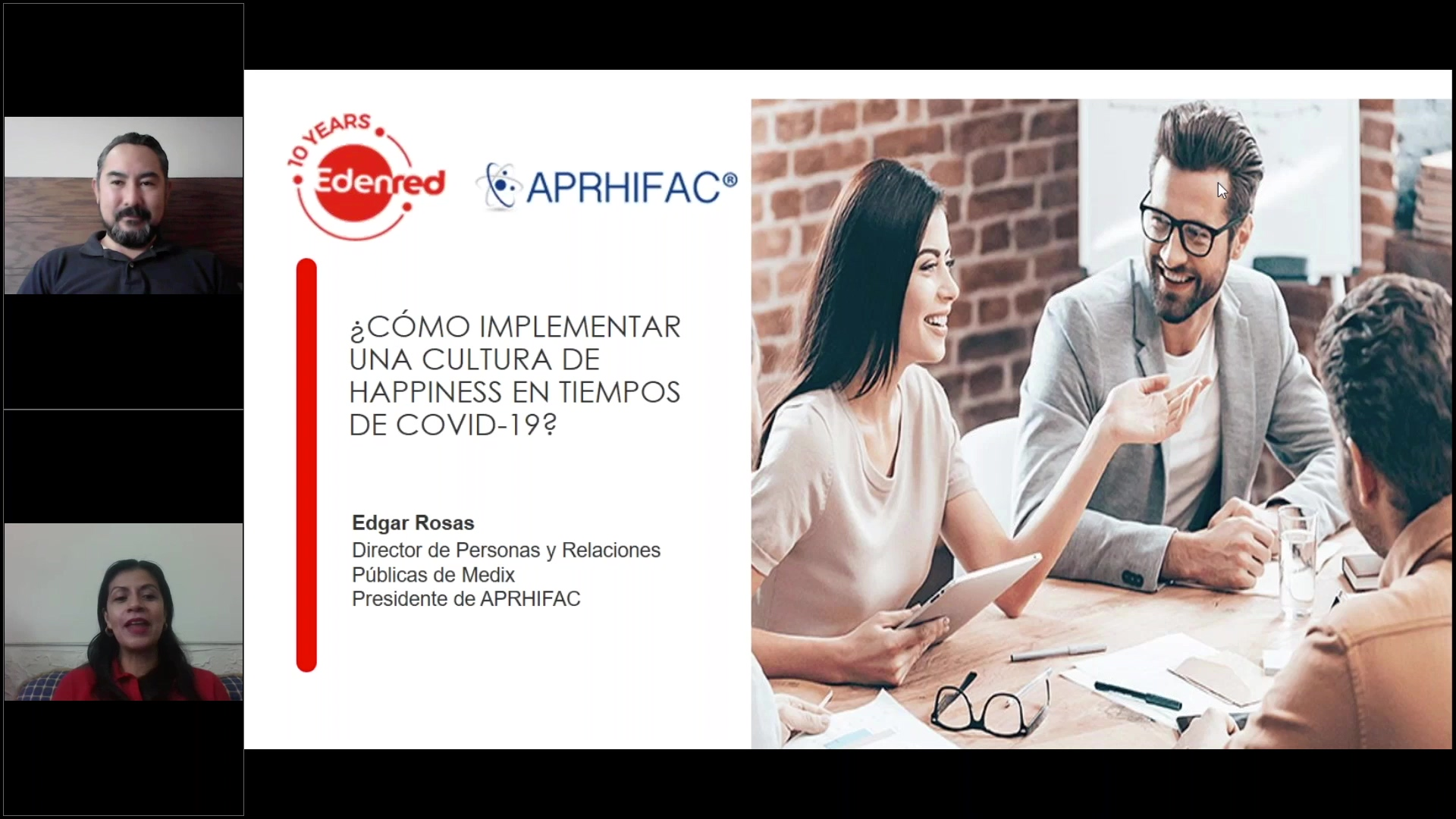 52 clip Webinar ¿Cómo implementar una cultura de Happiness en tiempos de COVID-19_