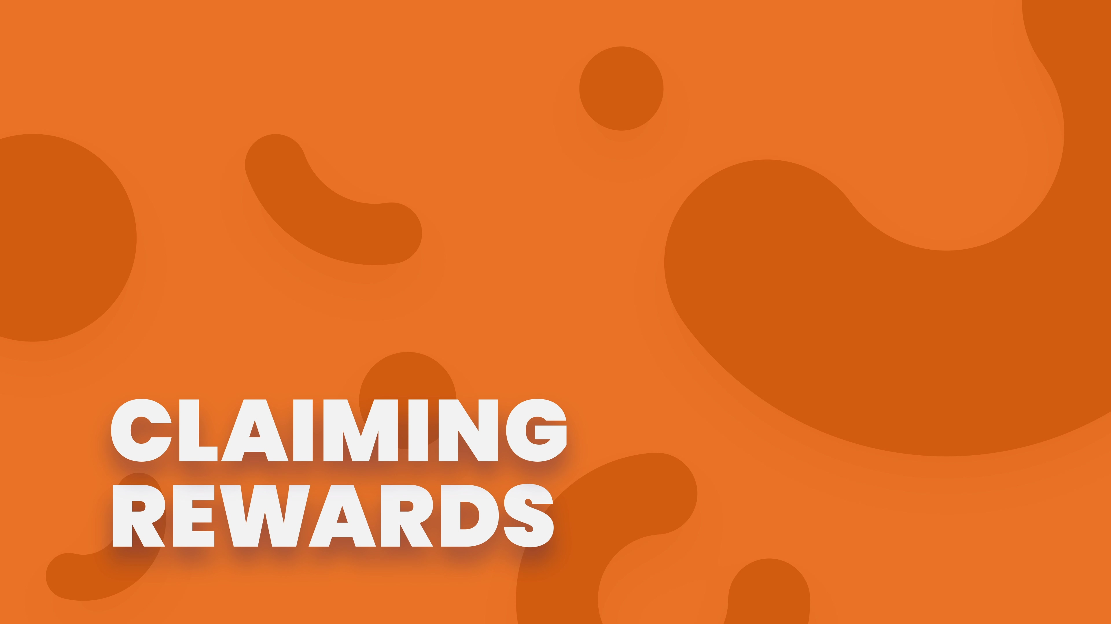 Claiming Rewards