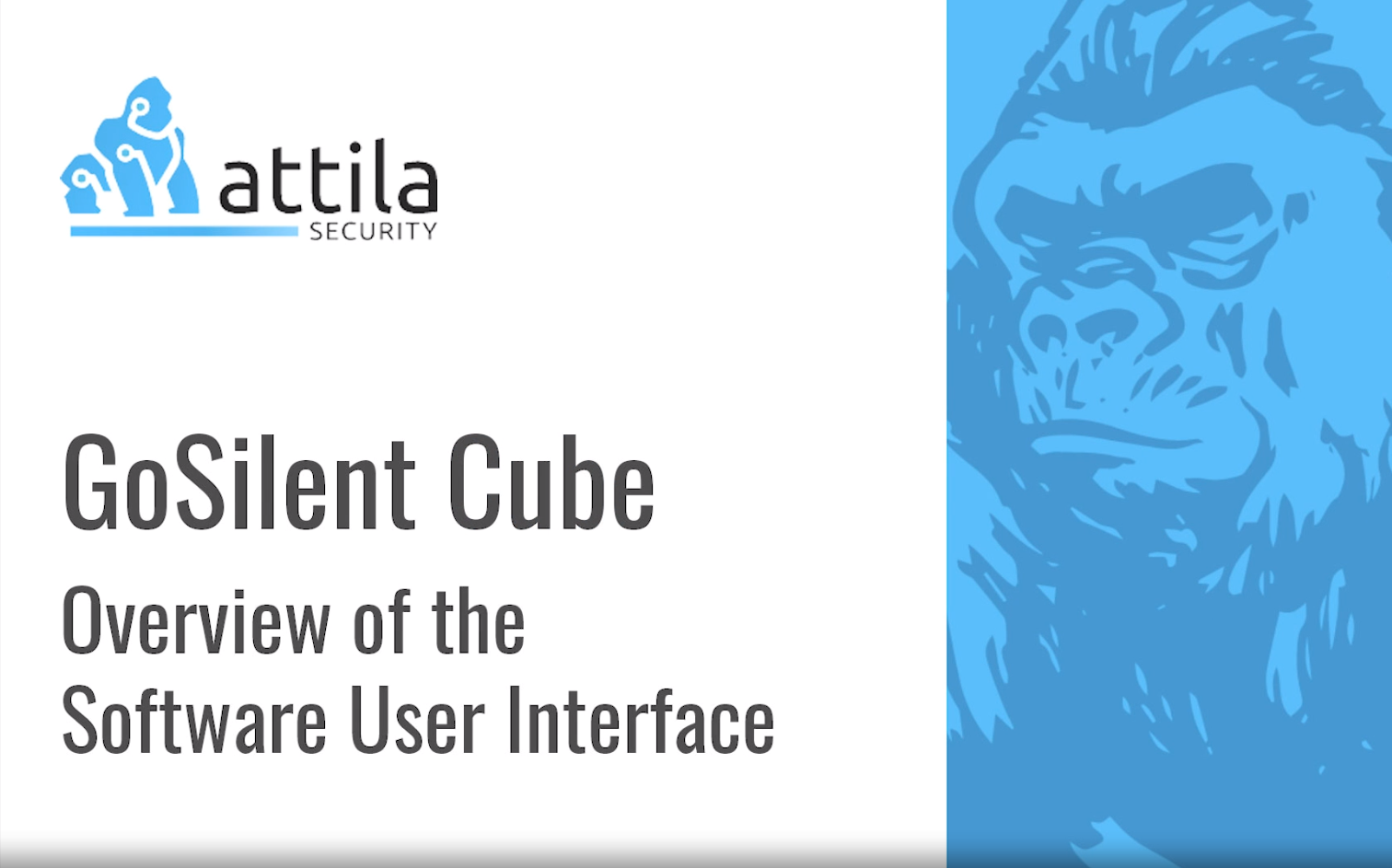 [Video] Overview: GoSilent Cube Client Interface featured image