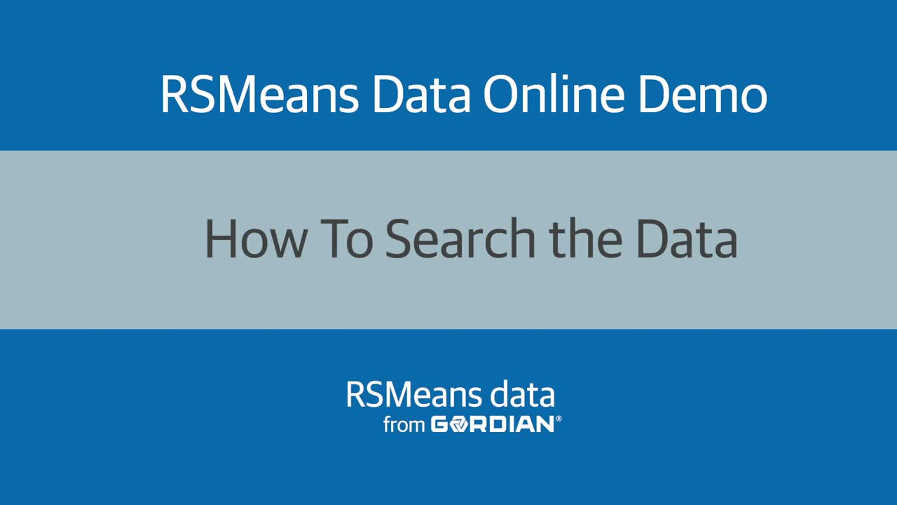 How to Search the Data