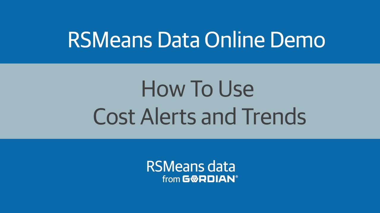 How To Use Cost Alerts and Trends