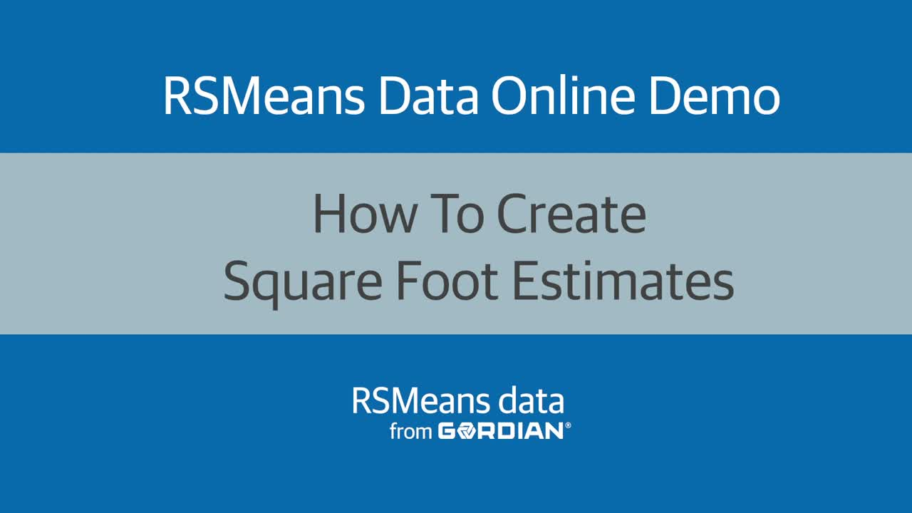 How To Create Square Foot Estimates