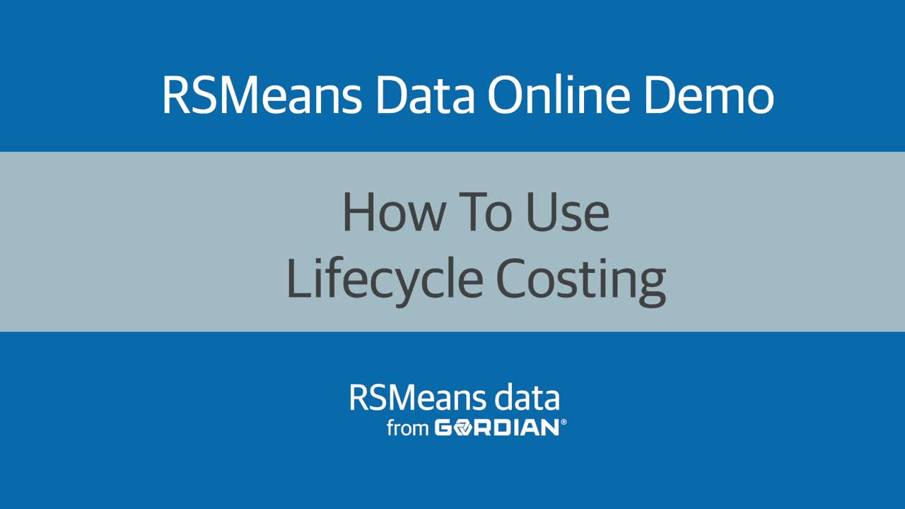 How To Use Lifecycle Costing