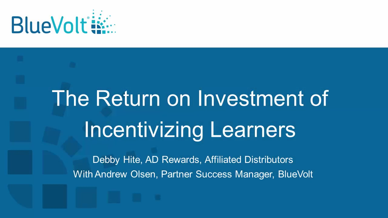 The Return on Investment of Incentivizing Learners
