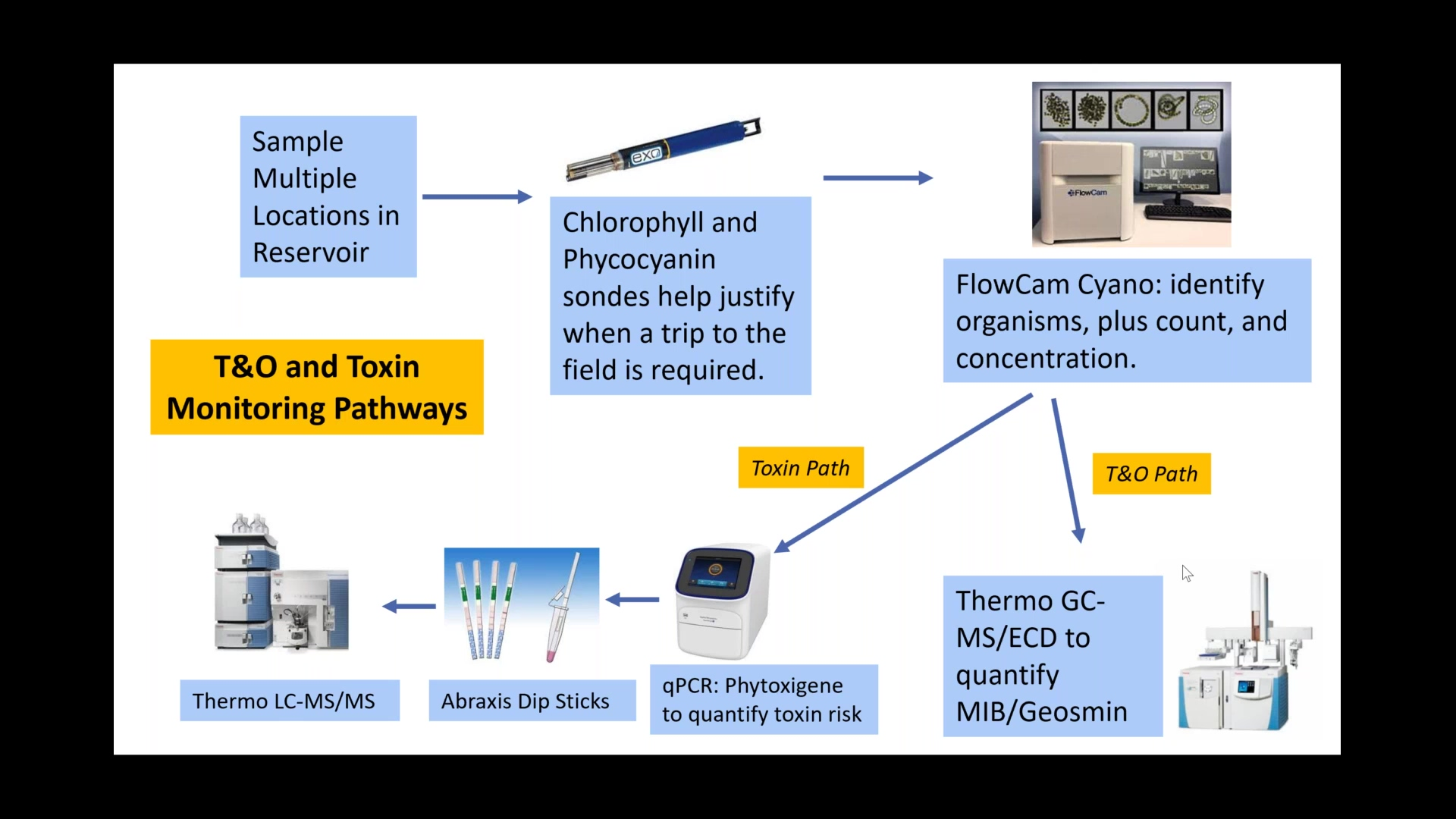 Integrated Approach to Monitor Taste and Odor Producing Cyanobacteria