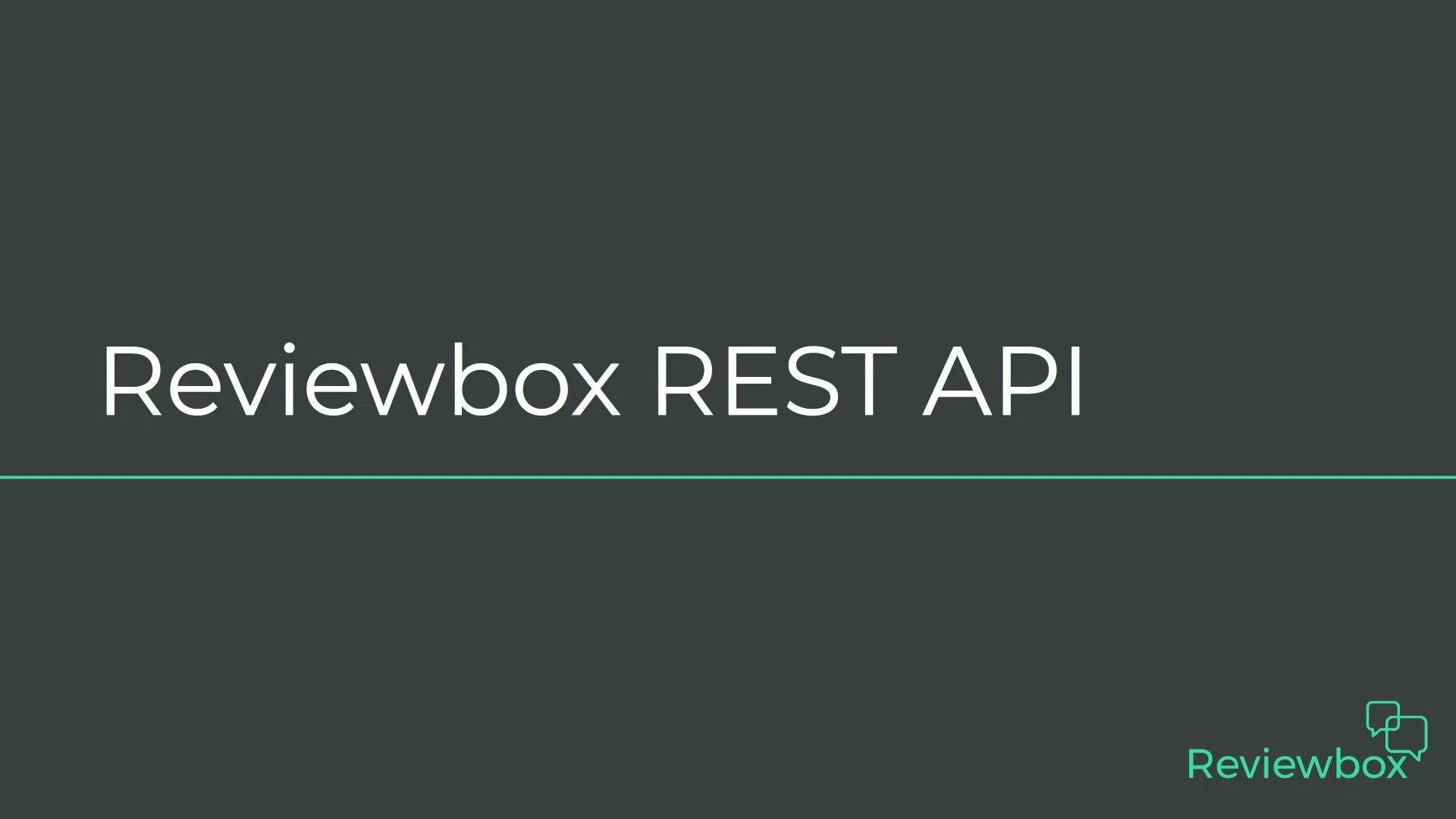 Exploring the Reviewbox API