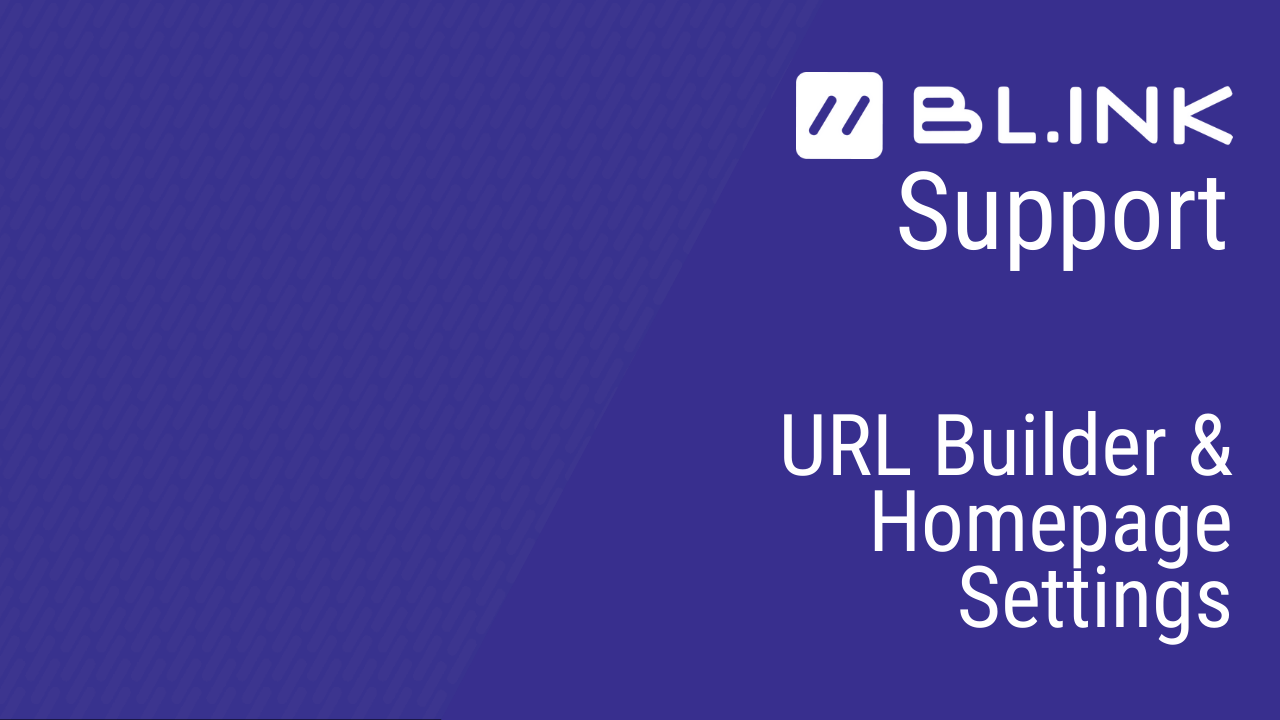 URLBuilder&Homepage(final)