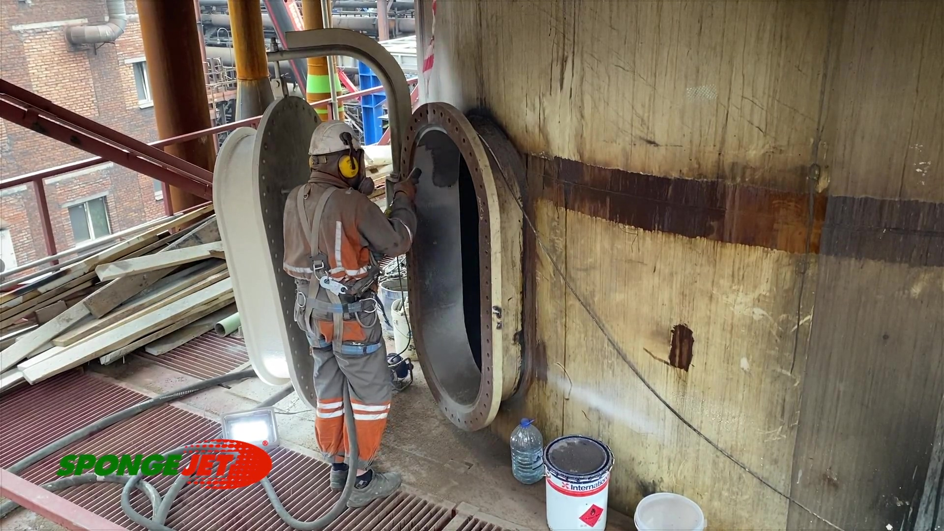 Steel Mill Scrubber Manway