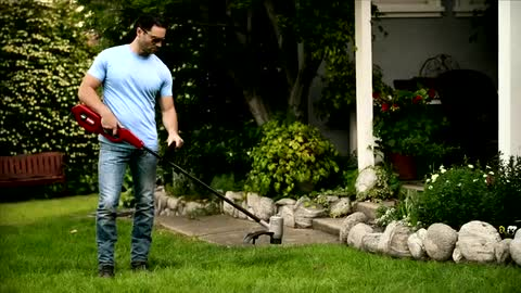 Cordless String Trimmer | Toro 48 Volt Lithium Ion Battery
