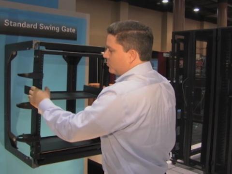 Standard Swing Gate Wall Rack - Video 0