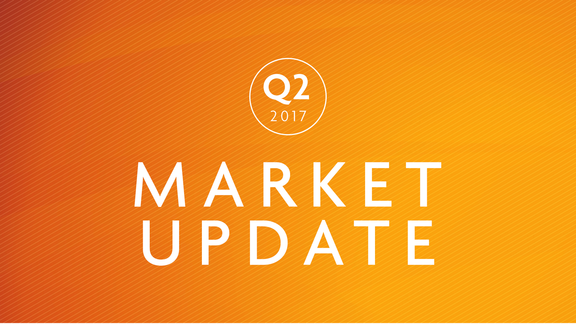 Q2 2017 | Market commentary