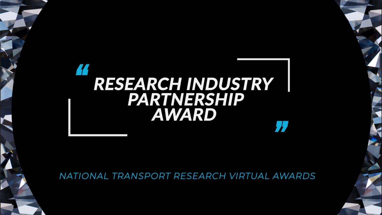 Research Industry Partnership Award FA