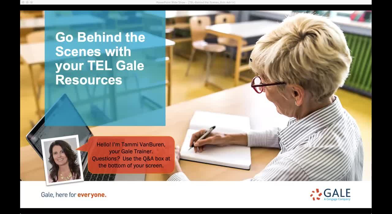 For TEL: Go Behind the Scenes with your TEL Gale Resources Thumbnail