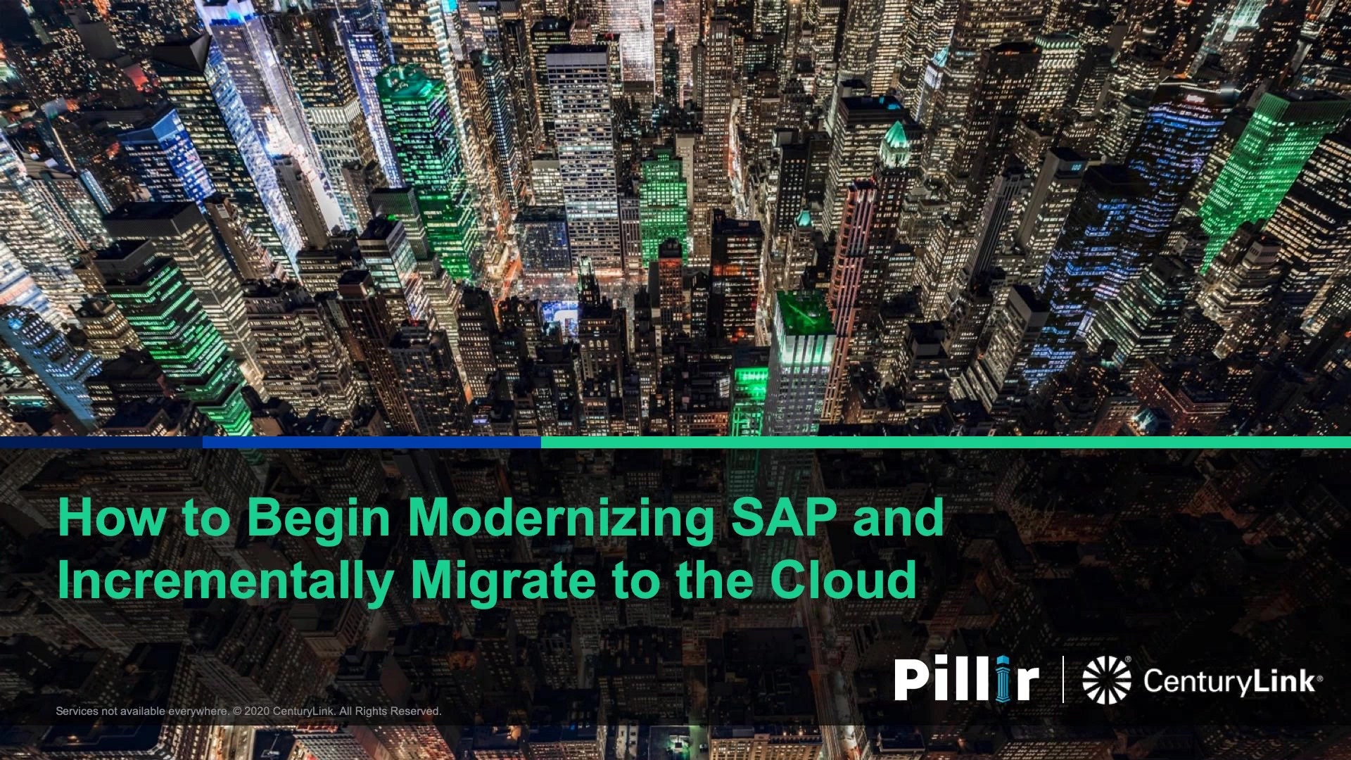 Webinar Recording - First Steps to Incrementally Migrate SAP to the Cloud