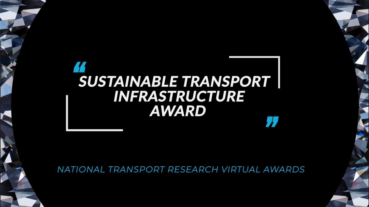 Sustainable Transport Infrastructure Award FA