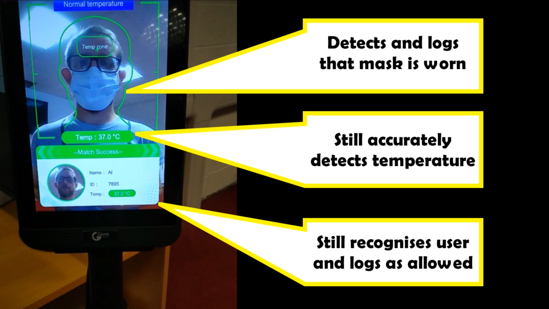 Genie Temp Detection