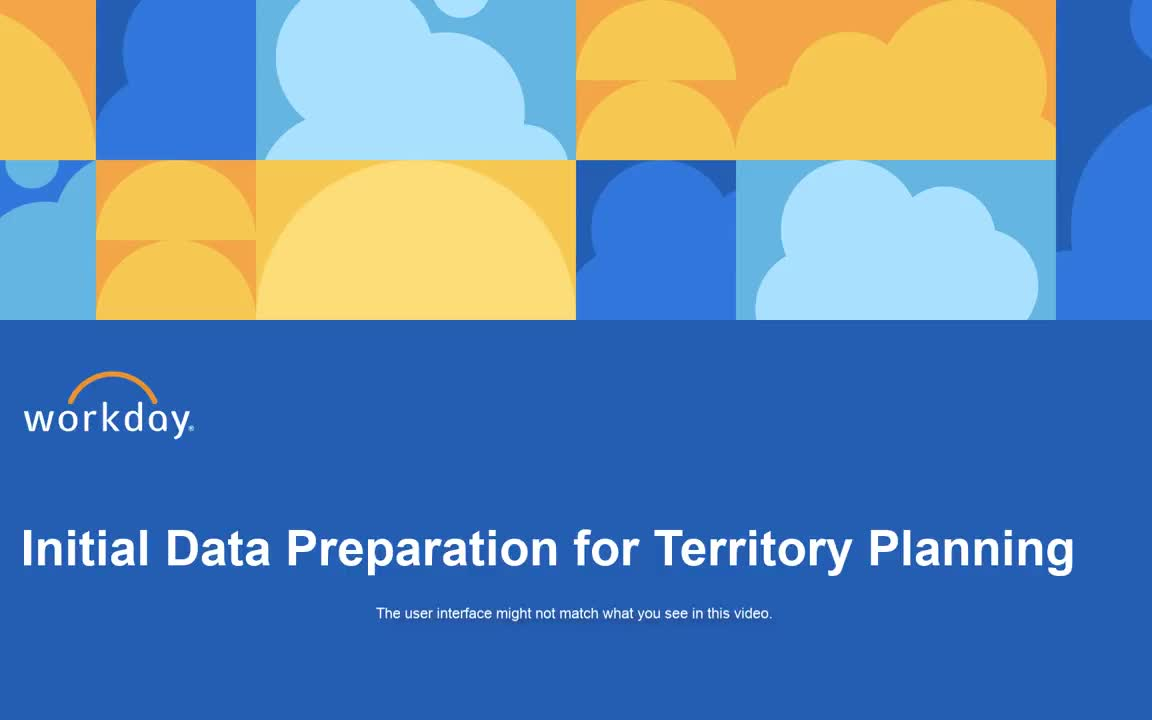 Initial Data Preperation for Territory Planning
