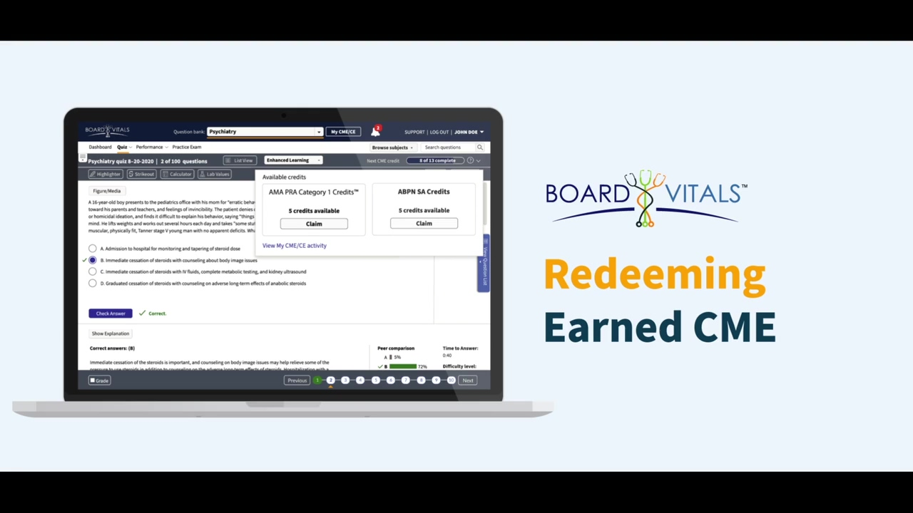 How to Redeem Earned CME