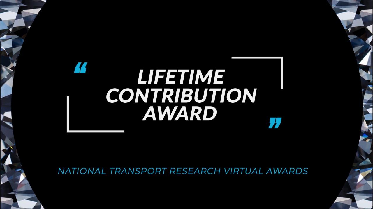 Lifetime Contribution Award FA