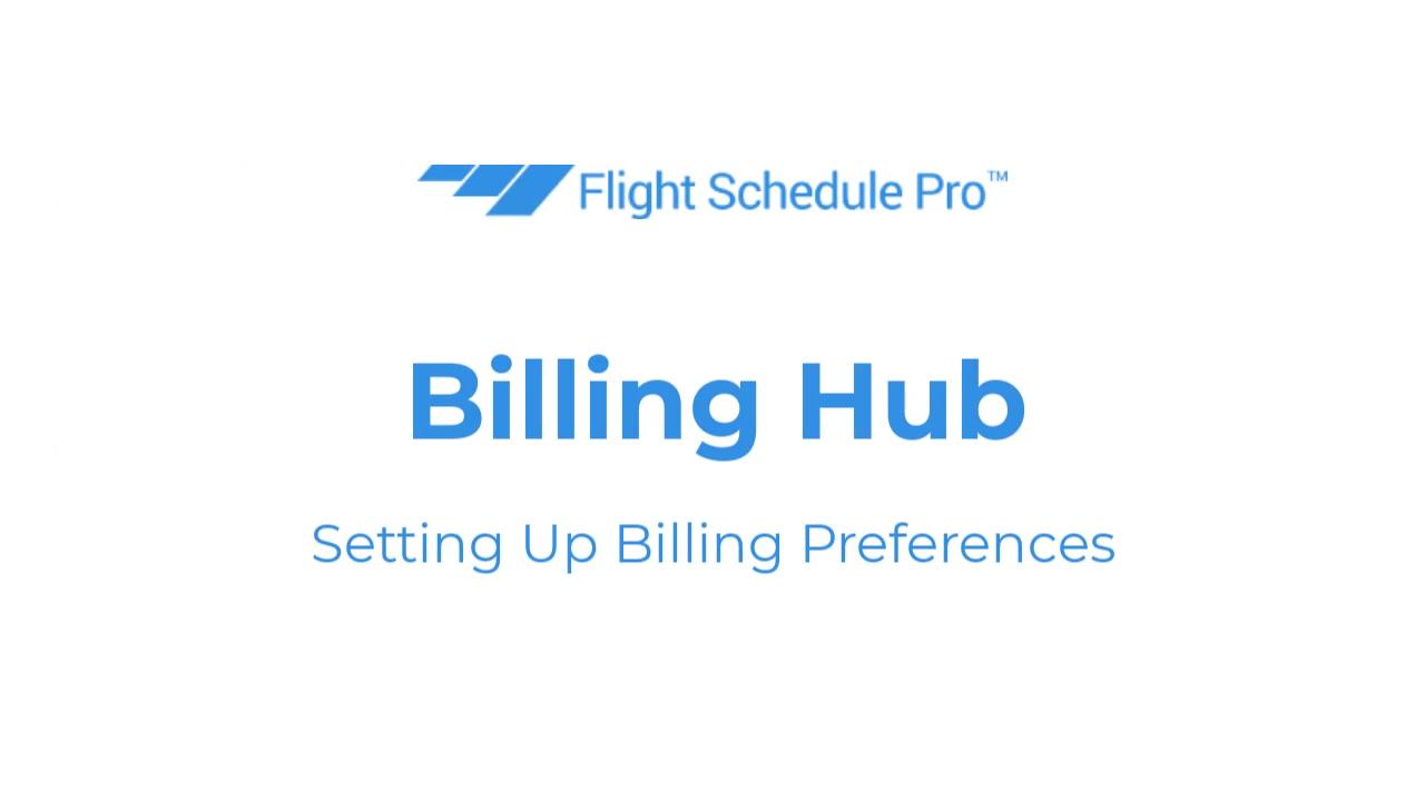 billing preferences