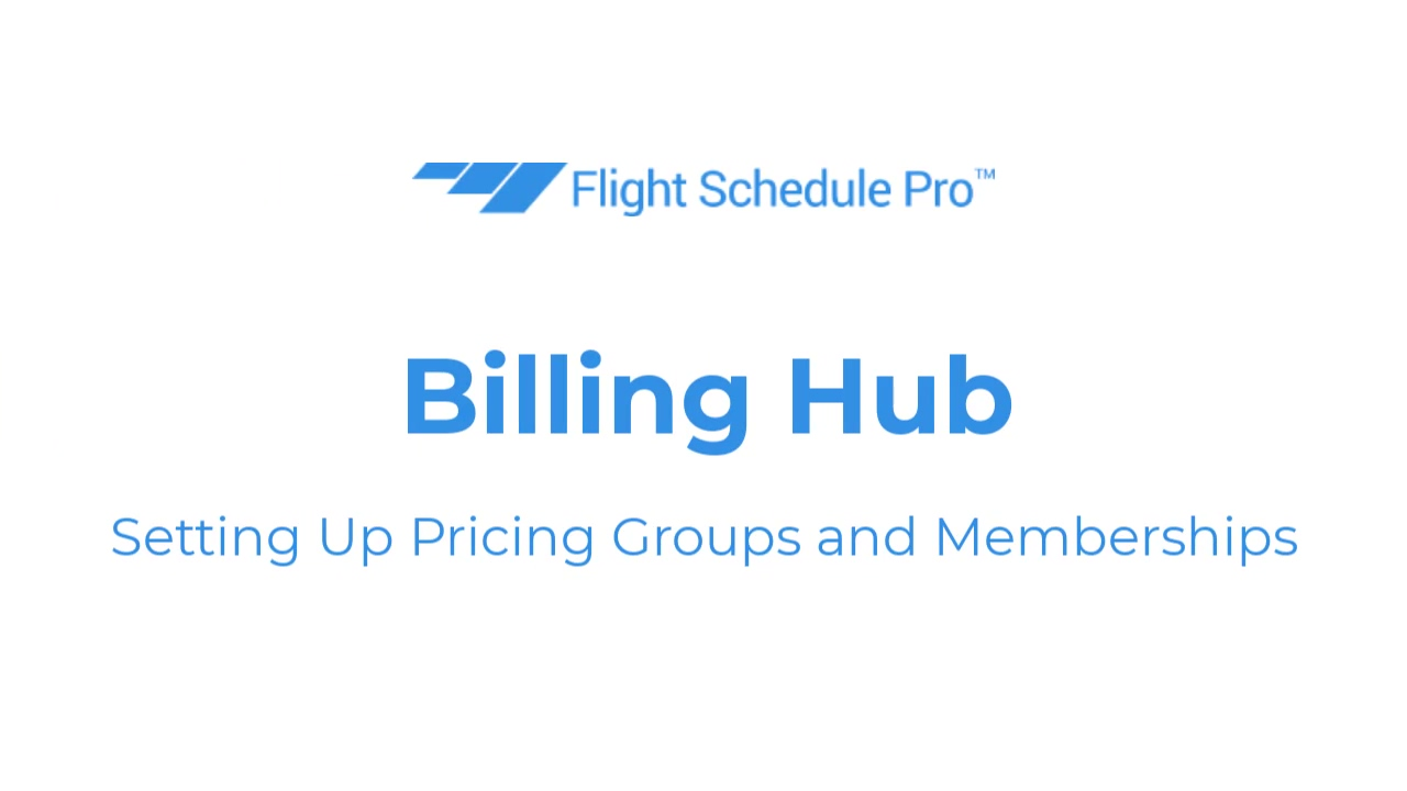 pricing groups and memberships