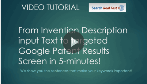AUTM Essentials Invention Text to Google Patents results narrowed using 3-CPC Class