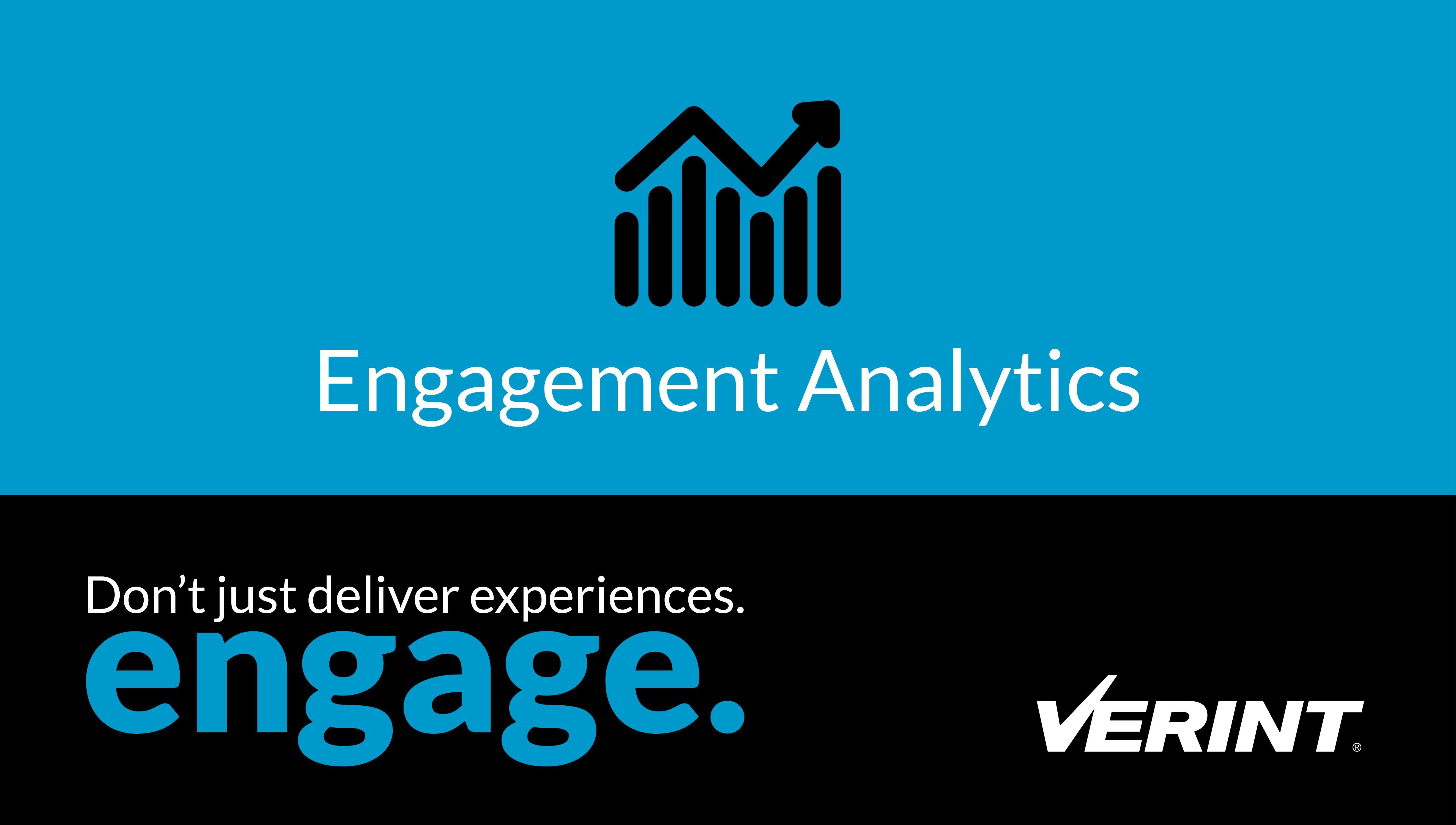Verint Engagement Analytics
