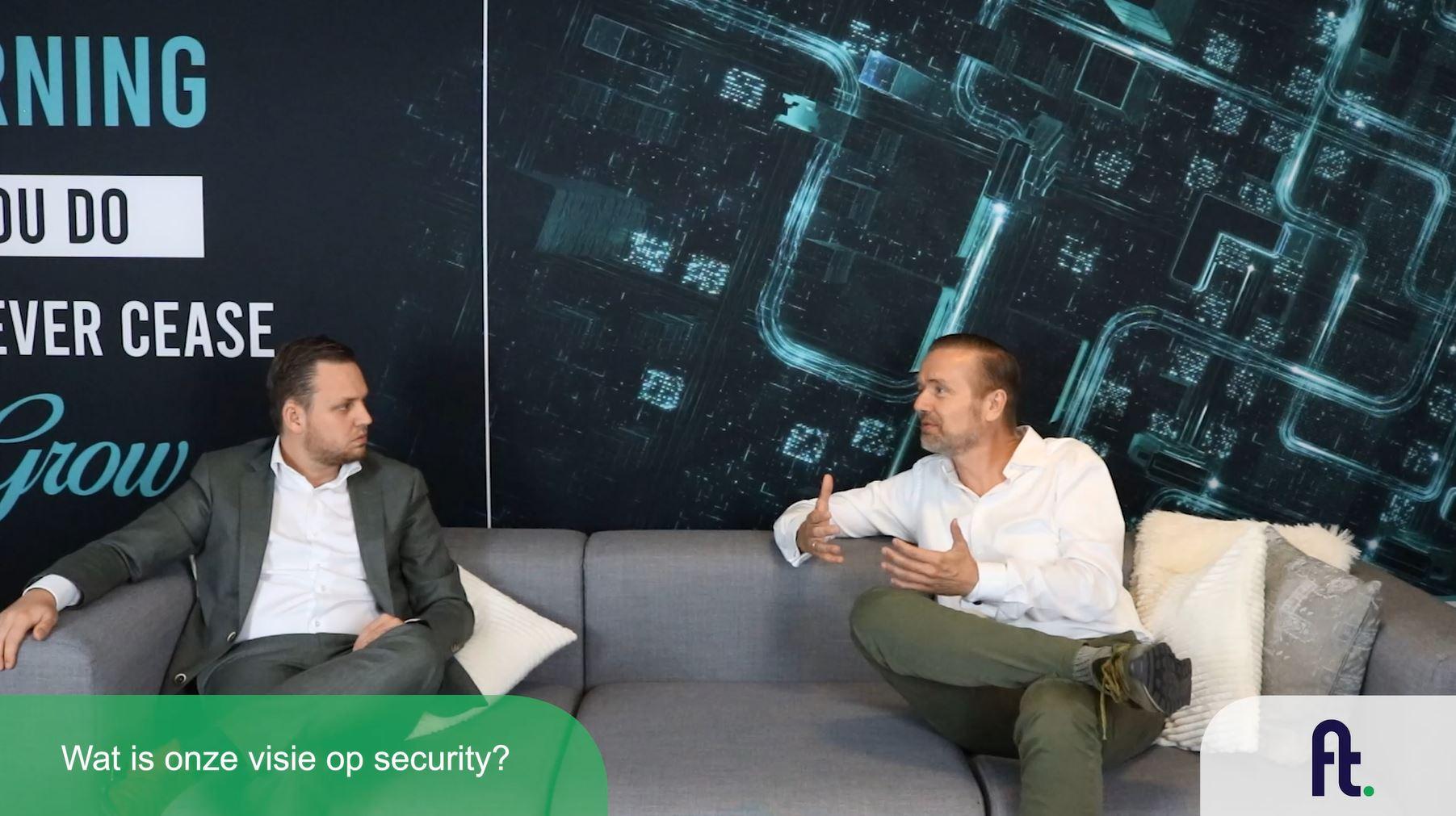 Onze visie op security