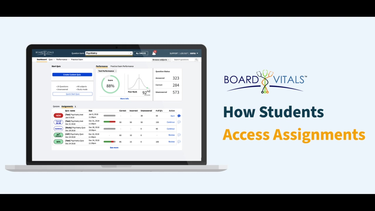How to Access Assignments