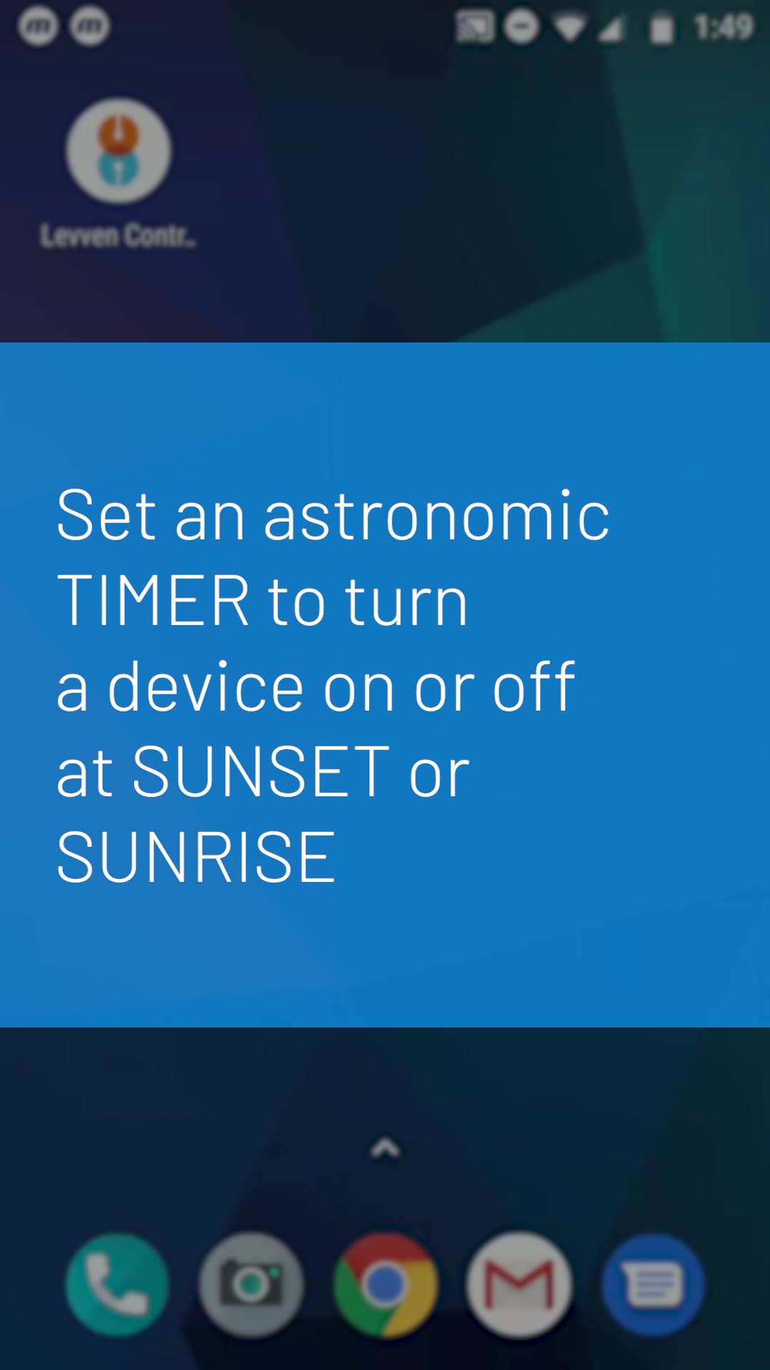 Levven App Sunset Sunrise Timer