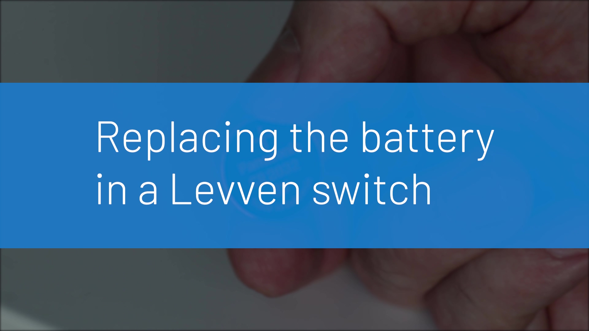 Levven Switch Replace Battery