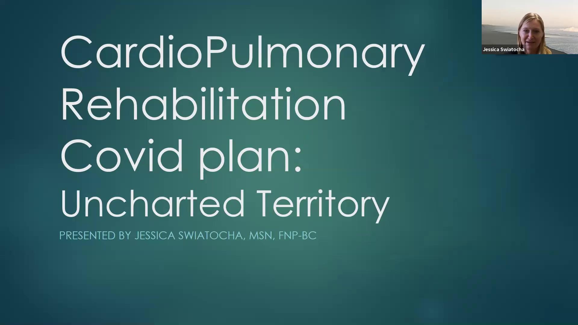 Cardiac Rehab Panel 2