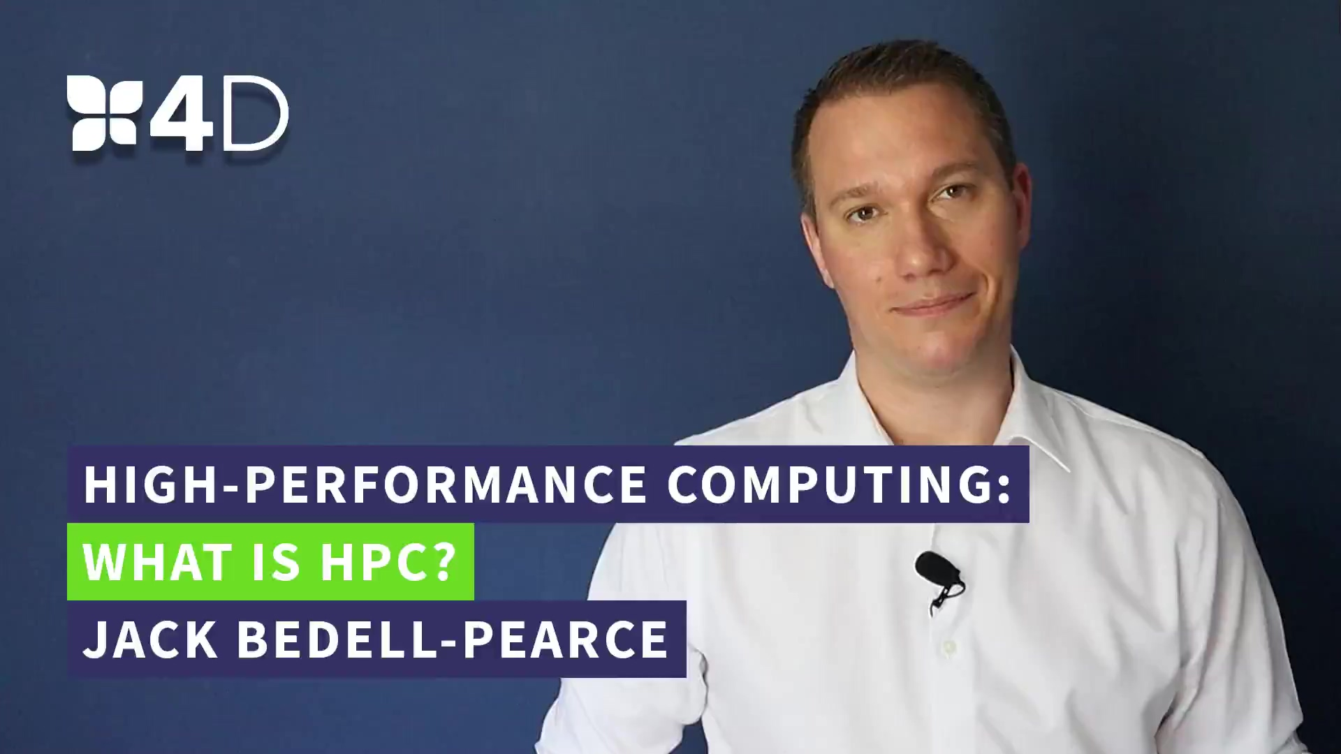 1. 4D - What is HPC